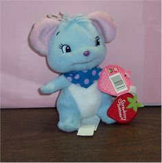 "I Didn't Know They Released A Plush Of ""Cheesecake Mouse"" (Blueberry Muffin's Pet) But Is Cheesecake A He Or A She????"