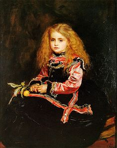 Portrait of the Infanta Margarita Aged Five (detail), Diego Velázquez. A Souvenir of Velázquez, Sir John Everett Millais. Dante Gabriel Rossetti, John Everett Millais, Caravaggio, Southampton, Diego Velazquez, Oil Canvas, Painting Canvas, Canvas Art, William Hogarth