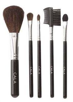 Cala Lily Makeup 5pcs Cosmetic Brush Kit Medium 76522  Aviva Nail Buffer * Check out this great product.