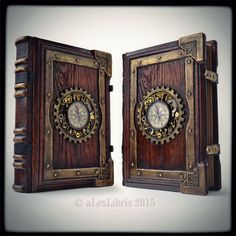 Large Steampunk Journal by aLexLibris