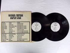 Warner/Reprise Display Case 2 LP Set Promotion PRO 503 Jethro Tull / Beach Boys