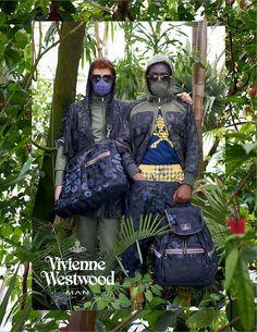 Male Fashion Trends: Vivienne Westwood y su campaña de invierno 2013 en Kew Gardens