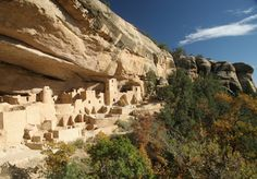 Cliff Palace, Mesa Verde National Park - way in south Colorado, so probably not, but just in case