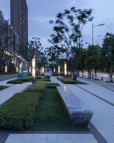 Urban micro-renewal, Guangda Street Park by Mind Studio(Works from the period of CBULD&MIND ) Urban Landscape, Landscape Design, Plaza Design, Guiyang, Commercial Street, Space Architecture, Aesthetic Pictures, Sidewalk, Mindfulness