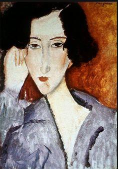 Amedeo Modigliani Madame Rachel Osterlind 1919