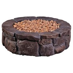 """Caswell 35"""" Round Gas Fire Pit - Bond : Target"""