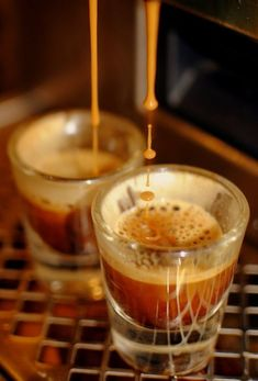 Pure decadence in a glass: espresso.