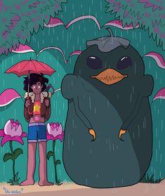 *confused child* — My Neighbor Bird Monster