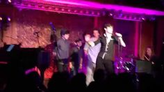"Pharell's ""Happy"" at Stop the Presses: Newsies at 54 Below"