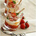 Voilà une recette que je fais et refais souvent. Une entrée rafraîchissante et pleine de peps avec de bonnes tomates cerises....  ...