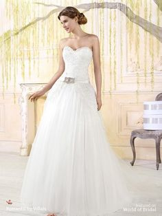 Villais 2016 Romantic style wedding dress