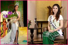 Emerald Nyein crowned Miss International Myanmar 2015