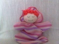 Primeira boneca para bebê.