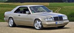 #Mercedes 300CE: Attraktive Ansichtssache (C124) 90er #Coupé in Bestform