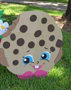 Shopkins kooky cookie theme 3ft party decroation/ prop/ wall art