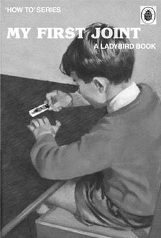 Funny book covers made up from children's Ladybird books etc. Quite funny and something that i laugh at because they are funny. Ladybird Books, Vintage Book Covers, Vintage Books, Funny Memes, Hilarious, Up Book, Golf Humor, Funny Golf, Pulp Fiction