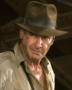 IndyGear.com: Fedora Indiana Jones Fedora, Indiana Jones 1, Harrison Ford, Henry Jones Jr, Adventure Hat, Fan Picture, Hat Stands, Crystal Skull, Cool Hats