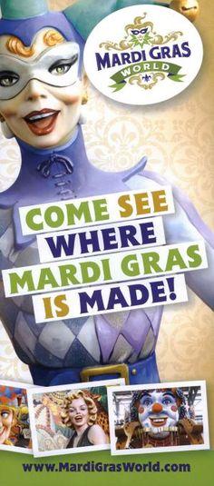 It's #MardiGras! Go see where Mardi Gras is made! #Travel #Louisana #NewOrleans