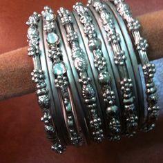 """Spotted while shopping on Poshmark: """"Ethnic oxidized bangles""""! #poshmark #fashion #shopping #style #Jewelry"""