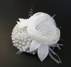 white hat jeweled