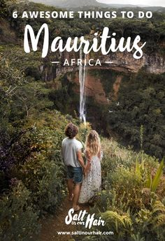 7 Awesome Things To Do on Mauritius, Africa #mauritius #things #todo #guide #beachcomber #chamarel #waterfall #africa #traveltip #traveltips #couple #wedding #destination #luxury #lemorne #mountain #hike #pamplemousse #park
