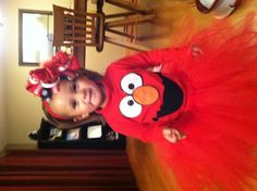 Diy no sew elmo halloween costume recipe holiday favorites girls elmo costume cute solutioingenieria Choice Image