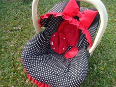 Capa Bebê Conforto Minnie                                                                                                                                                                                 Más