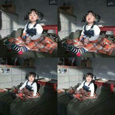 Cute Asian Babies, Korean Babies, Cute Babies, Cute Baby Girl Pictures, Baby Photos, Little Babies, Baby Kids, Boys Vs Girls, Ulzzang Kids