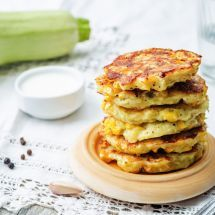 Ma recette du jour : Beignets de courgette et aubergine sur Recettes.net