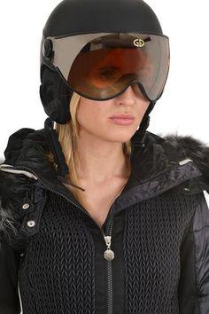 Goldbergh Helga ladies designer ski Helmet Black – Winternational.co.uk