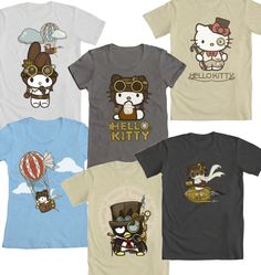 Steampunk Hello Kitty collection
