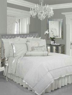 Silver gray white