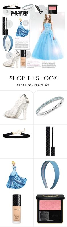 """""""Cinderella"""" by paige2206 ❤ liked on Polyvore featuring Dolce&Gabbana, Blue Nile, Gucci and Disney"""