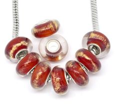 Ten (10) Pack of Assorted Red with Gold Glass Lampwork, Murano Glass Beads for European Style Bracelets. Fits Pandora, Biagi, Troll, Chamilla and Many Others SEXY SPARKLES http://www.amazon.com/dp/B00AUNN8TC/ref=cm_sw_r_pi_dp_iP58tb1Z1ATYM