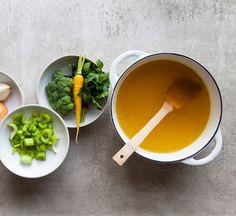 Recipe // Cauliflower + Bone Broth + Ghee + Salt