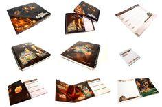 Cuadernos Corporativos con Troqueles Especiales