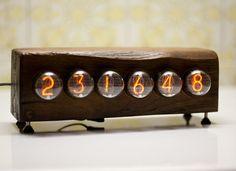 Picture of simple user-adjustable DIY Nixie Clock