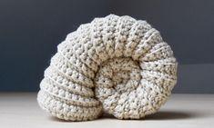 Crochet an Ammonite Fossil – FREE Pattern