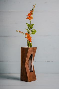 Geometric Test tube Bud Vase by District31 on Etsy, $29.00