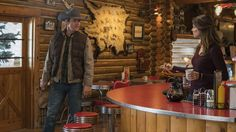"""""""We, along with Lou, get to learn more about Mitch tonight on a NEW episode of Heartland on It's on at 👍"""" Heartland Seasons, Heartland Cast, Daniel Lissing, New Tv Series, Amber Marshall"""