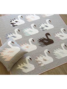 New Quilt Patterns - Swan Island Quilt Pattern