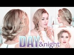 Prom hairstyles ❤ Wedding updo with braids ❤ Bridal/bridesmaid long hair tutorial - YouTube