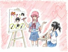 Future Diary and Yandere Simulator.... Things will get real...