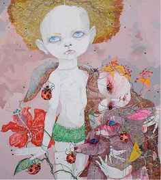 seed-ling:Del Kathryn Barton. | Artistic Moods