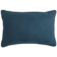 Calliope Lumbar Pillow - Teal seat at end of bed, and same colour behind the bed head.
