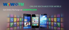 Get relax off all your stress about recharges, using wowstm.com with just a click. #onlinerecharge, #mobilerecharge, #phonerecharge, #easyrecharge, #quickrecharge, #rechargeonline