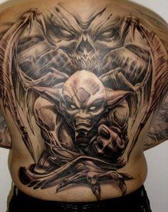 Paul Booth work- AMAZING tat artist....