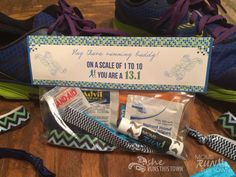 Crafting for runners: Runner Basic Needs Kit - perfect for runners or runner gifts!