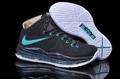 Air Max LeBron James X EXT Cork QS Black/Jade Men Size Sneakers