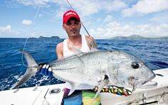 Sean Tiech and Co. fishing triop in Vanuatu with the Ocean Blue fishing team!